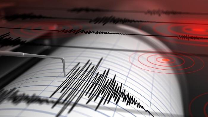 Ilustrasi gempa bumi. (iStock)