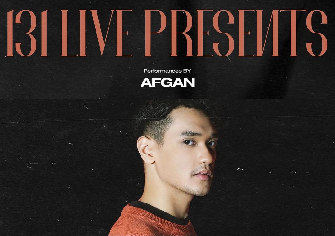 Afgan bakal tampil di 131 LIVE PRESENTS. Source: Instagram @official131label